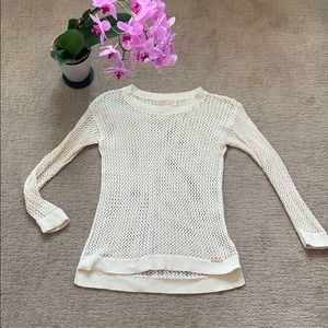 Michael Kors Sweaters - Michael Kors Pullover White Sweater Small